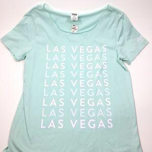 NWT Victoria Secret PINK Las Vegas Tee